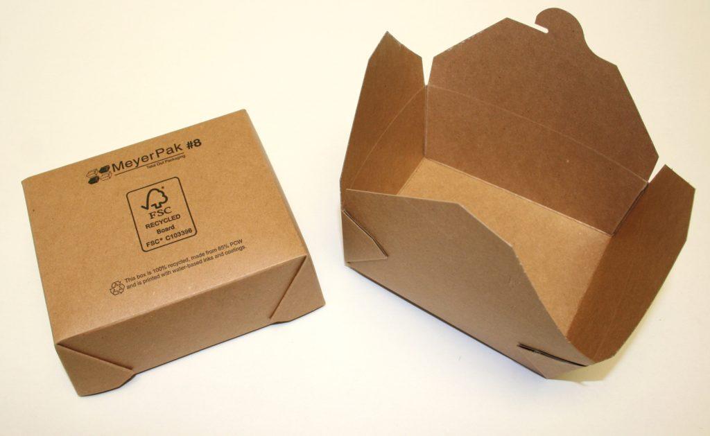 Recycleable carton